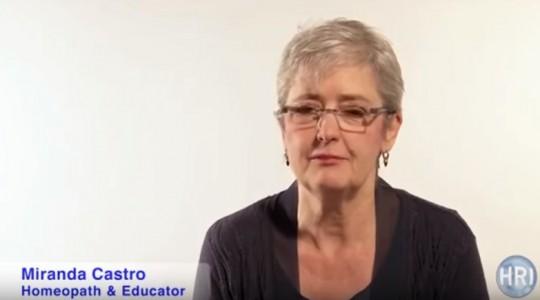 Miranda Castro o účinnosti homeopatie