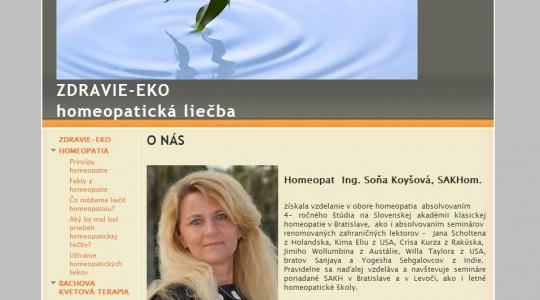 Ing. Soňa Koyšová, SAKHom.