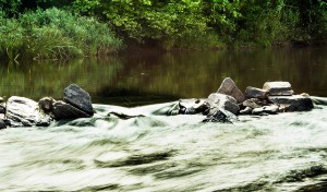 Kamene v rieke