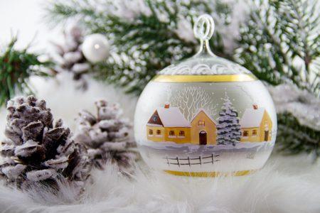 Vianočné homeopatické maľovanie