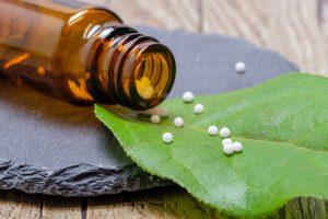 homeopatia, globulky