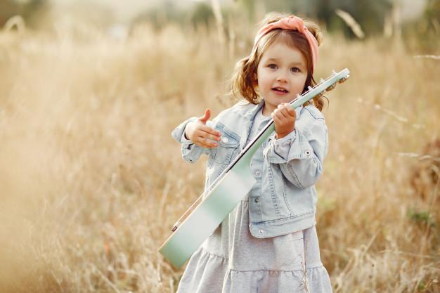 dievčatko na luke