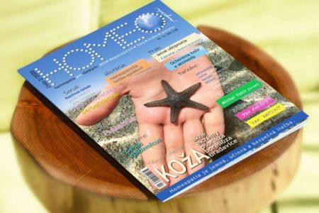 Nové číslo HOMEO magazínu je venované téme KOŽA