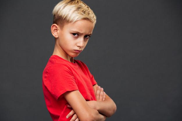 tvrdohlavé, nezvládnuteľné dieťa