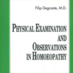 Physical examination and observations - Filip Degroote